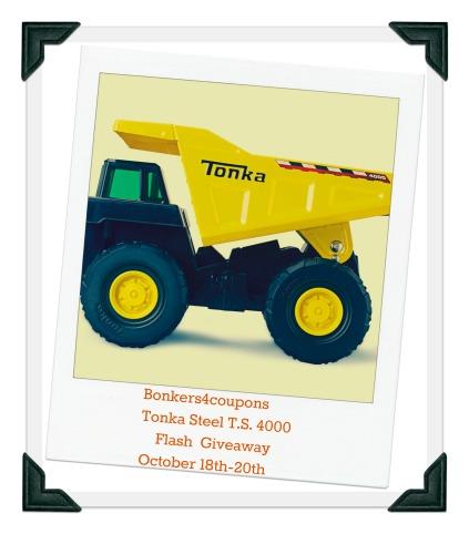 Tonka Dump Truck Giveaway