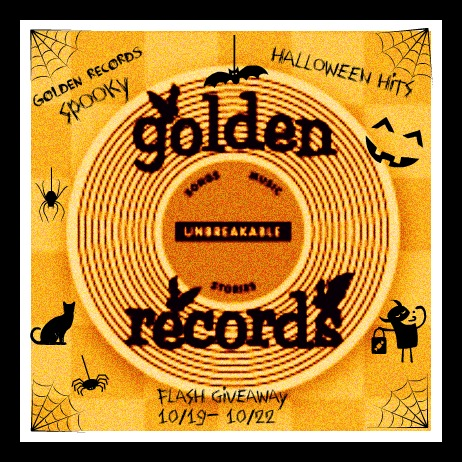 Golden Records Spooky Halloween Hits Giveaway!!
